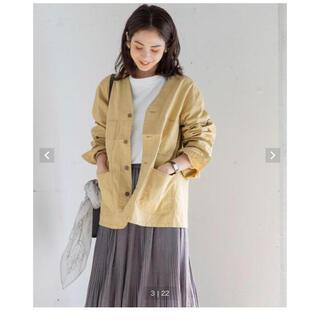 coen - coenノーカラージャケット