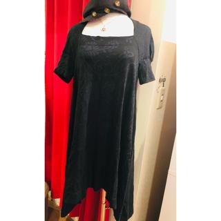 ヴィヴィアンウエストウッド(Vivienne Westwood)のヴィヴィアンオーブボタンつばチェック春夏キャップハット帽子二階堂ふみ椎名林檎益若(キャップ)