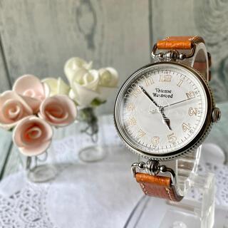 Vivienne Westwood - 【美品】 ヴィヴィアン 腕時計 アンティークコインウォッチ シルバー 革