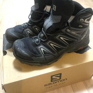 サロモン(SALOMON)のサロモン トレッキングシューズ 登山靴 箱あり 美品 26.5センチ(登山用品)