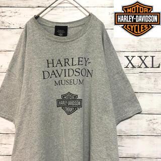 Harley Davidson - 【希少】XXL ハーレーtシャツ  ハーレーダビッドソン 2XL グレー レア