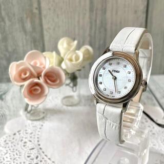 FENDI - 【美品】FENDI フェンディ 腕時計 25000L レディース 11P ダイヤ