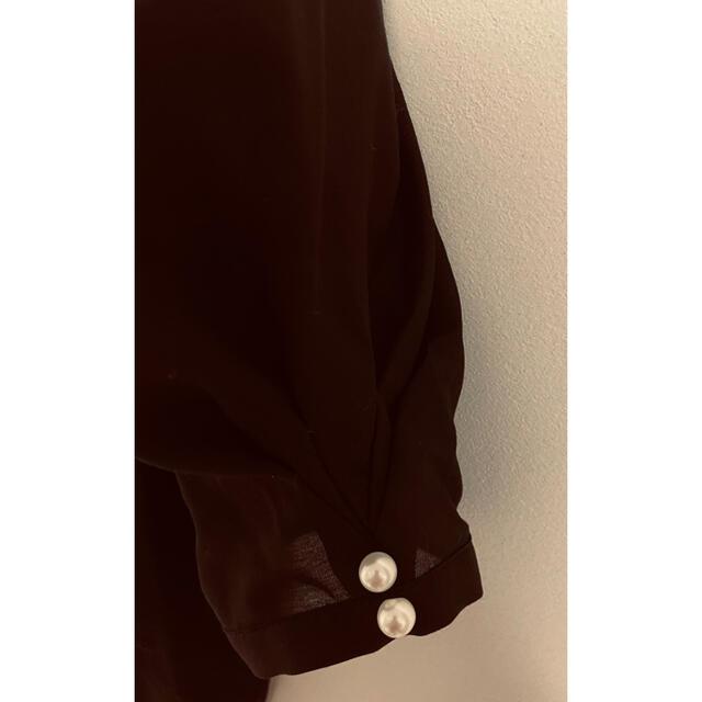 Apuweiser-riche(アプワイザーリッシェ)の未使用タグ付き♡袖コンシャスニット レディースのトップス(ニット/セーター)の商品写真