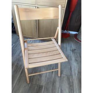 ムジルシリョウヒン(MUJI (無印良品))の無印 折り畳み椅子(折り畳みイス)