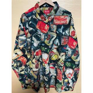 シュプリーム(Supreme)のSupreme cans shirt XL (シャツ)