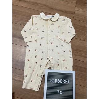 BURBERRY - ★美品★ BURBERRY ロンパース 70