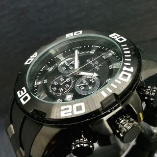 インビクタ(INVICTA)のインビクタ 腕時計【新品】プロダイバー クロノグラフ ブラックダイヤル メンズ(腕時計(アナログ))