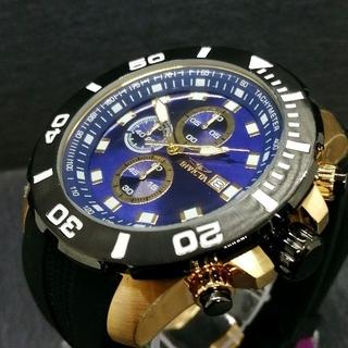 インビクタ(INVICTA)のインビクタ 腕時計【新品】プロダイバー クロノグラフ ブルーダイヤル メンズ(腕時計(アナログ))