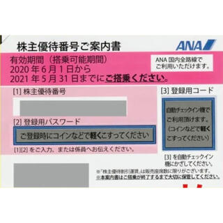 ANA株主優待券(1枚〜4枚)(その他)