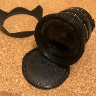キヤノン(Canon)の(値下げ)canonレンズtokina af 19-35mm f3.5-4.5 (レンズ(ズーム))