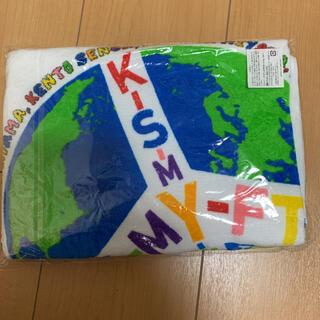 キスマイフットツー(Kis-My-Ft2)のキスマイコンサートグッズ タオル(アイドルグッズ)