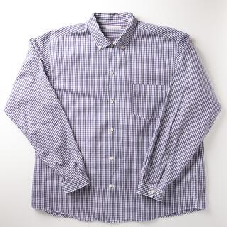 ヤエカ(YAECA)の[極美品] SUNSHINE+CLOUD ギンガムチェック シャツ ブラウス(シャツ)