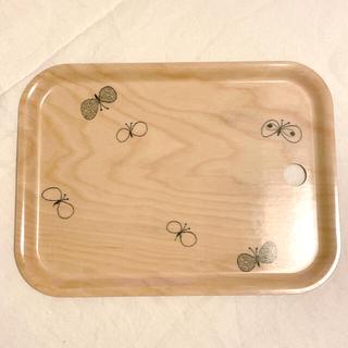 ミナペルホネン(mina perhonen)の新品✩mina perhonen ちょうちょ トレイ(テーブル用品)