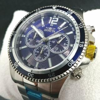 インビクタ(INVICTA)のインビクタ 腕時計【新品】スペシャリティ クロノグラフ ブルーダイアル メンズ(腕時計(アナログ))