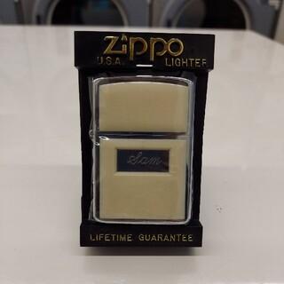 ジッポー(ZIPPO)の激レア Zippo ホワイト 1987年 ビンテージ ライター ジッポ(タバコグッズ)