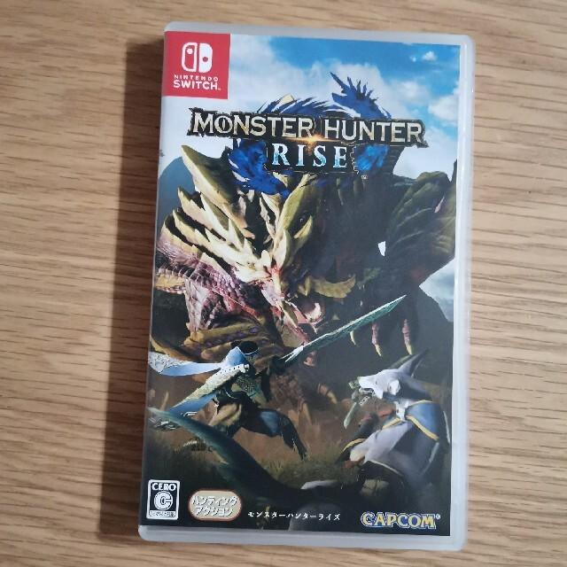 (特典付き)モンスターハンターライズ Switch エンタメ/ホビーのゲームソフト/ゲーム機本体(家庭用ゲームソフト)の商品写真
