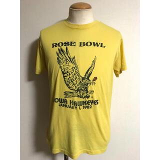 ダブルアールエル(RRL)の80s ビンテージ USA製 ローズボール イーグル Tシャツ M xpv (Tシャツ/カットソー(半袖/袖なし))