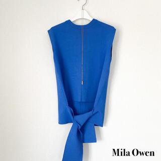 Mila Owen - Mila Owen ミラオーウェン ニットプルオーバー