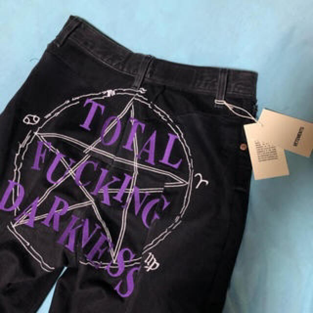 Balenciaga(バレンシアガ)の希少 vetements tfdデニム メンズのパンツ(デニム/ジーンズ)の商品写真