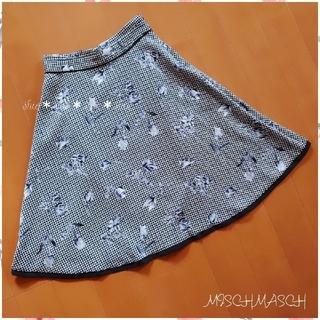 MISCH MASCH - 《MISCH MASCH》花柄 フラワー 配色スカート 36