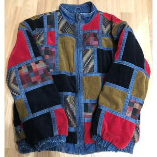 シュプリーム(Supreme)のSupreme Corduroy Patchwork Denim jacket(ブルゾン)