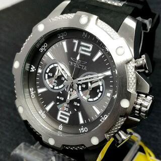インビクタ(INVICTA)のインビクタ 腕時計 Iフォース【新品】ブラック文字盤 シルバー メンズ(腕時計(アナログ))