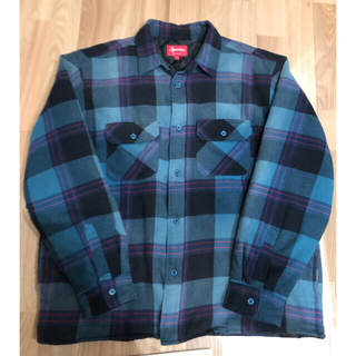 シュプリーム(Supreme)のSupreme Quilted Flannel Shirt(シャツ)