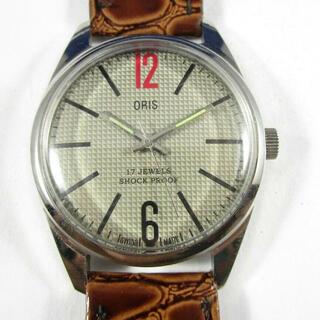 オリス(ORIS)の【美品】ORIS オリス 手巻き腕時計(腕時計(アナログ))