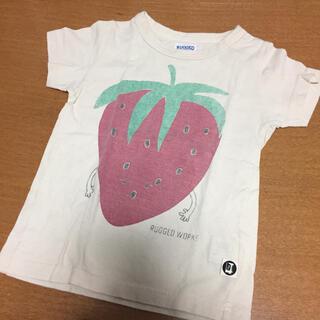 ラゲッドワークス(RUGGEDWORKS)の【RUGGED WORKS/ラゲッドワークス】いちごTシャツ110cm(Tシャツ/カットソー)