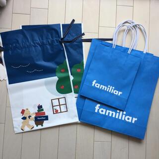 familiar - familiar ショップ袋