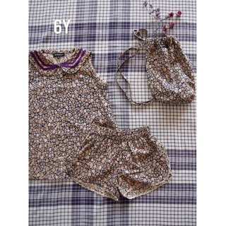Caramel baby&child  - bonjour  diary top & short 6y