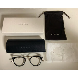 アヤメ(Ayame)のeyevan maloof 4723 アイヴァン 眼鏡 pbk(サングラス/メガネ)