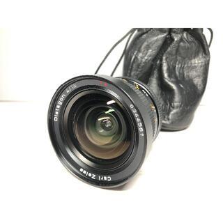 極上品CONTAX Carl Zeiss Distagon 18 F4 AEG(レンズ(単焦点))
