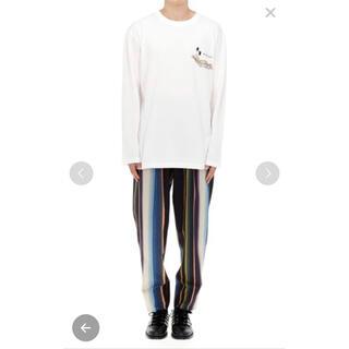トーガ(TOGA)のTOGA VIRILIS エンブロイダリーL/S Tシャツ(Tシャツ/カットソー(七分/長袖))