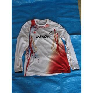 アシックス(asics)のアシックスJAPAN陸上ロングTシャツ Lサイズ(陸上競技)
