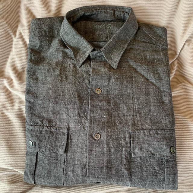 PORTER(ポーター)のPorter classic roll-upバンブーリネンシャツ最終値下げ メンズのトップス(シャツ)の商品写真