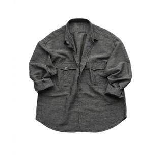 PORTER - Porter classic roll-upバンブーリネンシャツ