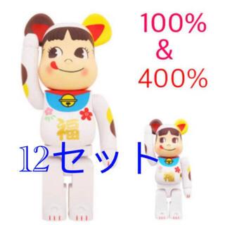 メディコムトイ(MEDICOM TOY)の12セットBE@RBRICK 招き猫 ペコちゃん 福 100% & 400% (その他)