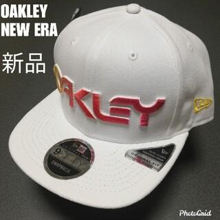 オークリー(Oakley)の再入荷 新品未使用オークリーニューエラコラボキャップOAKLEY  NEWERA(キャップ)