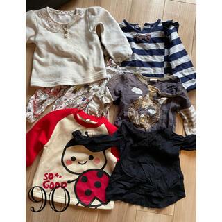 クレードスコープ(kladskap)のサイズ90 女の子用長袖 まとめ売り kladskapなど(Tシャツ/カットソー)