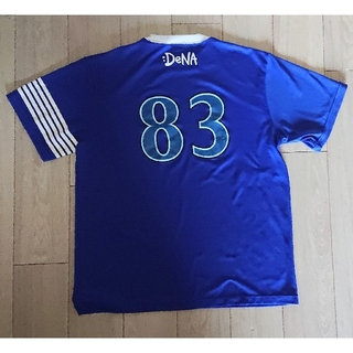 DESCENTE - 【希少 支給品】横浜 DeNA ベイスターズ 青山 トレーニングシャツ XA