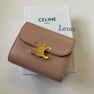 celine - Celine セリーヌ トリオンフ ウォレット 財布 ヴィンテージピンク