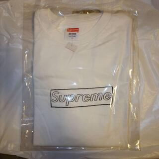 シュプリーム(Supreme)のsupreme kaws box logo tee 白 L(Tシャツ/カットソー(半袖/袖なし))
