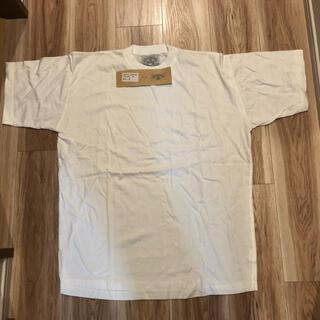 アルマーニジーンズ(ARMANI JEANS)のARMANI JEANS  メンズTシャツ白 Mサイズ 新品未使用(Tシャツ/カットソー(半袖/袖なし))