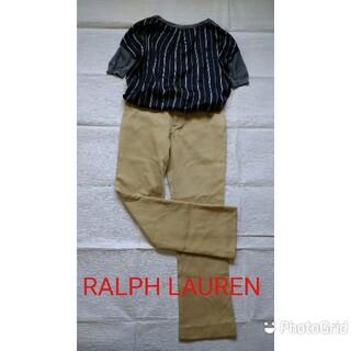 Ralph Lauren - RALPH LAUREN 定番のチノパンツ キャメル