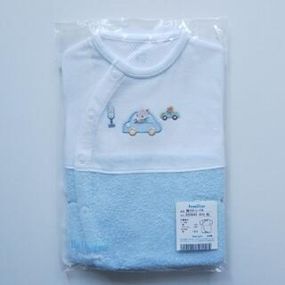 familiar - 【新品】ファミリア   袖付きロンパース 60~75
