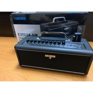 ボス(BOSS)の【美品】BOSS kanana-AIR ワイヤレスギターアンプ(ギターアンプ)