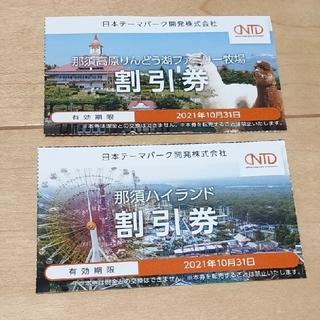 日本駐車場開発 株主優待 割引券(スキー場)