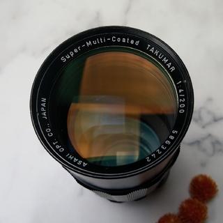 ペンタックス(PENTAX)のPENTAX ペンタックス SMC Takumar 200mm F4(レンズ(単焦点))