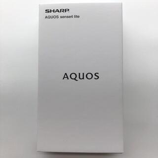 AQUOS - 「新品」AQUOS sense4 lite 64GB